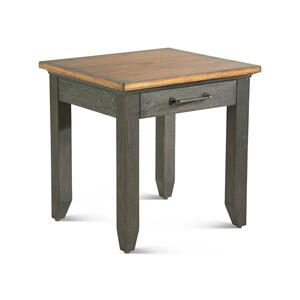 Steve Silver Co.Bear Creek Brown End Table