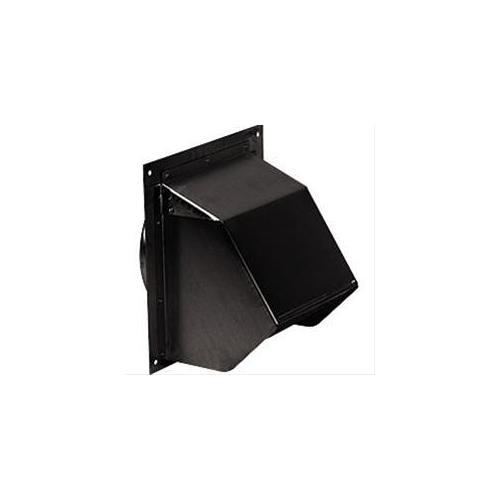 "BEST Range Hoods - Wall Cap, Black, for 6"" round duct"