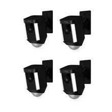 4-Pack Spotlight Cam Mount - Black