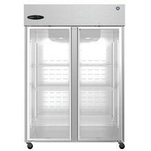 See Details - CF2S-FGE, Freezer, Two Section Upright, Full Glass Doors
