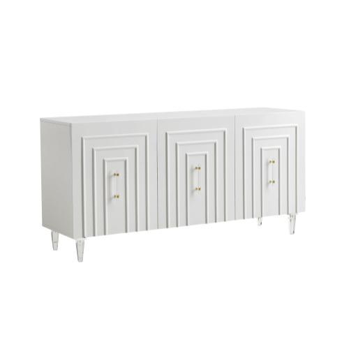Tov Furniture - Famke White Lacquer Buffet