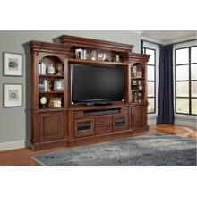 FRANKLIN 4 piece Entertainment Wall