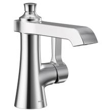 Flara Chrome one-handle high arc bathroom faucet