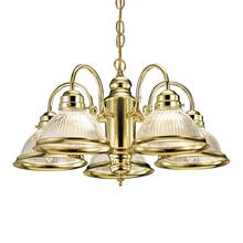 Millbridge 5-Light Polished Brass Chandelier #500546