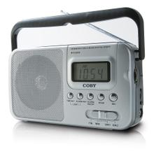 Portable AM/FM/Shortwave Radio with Digital Display