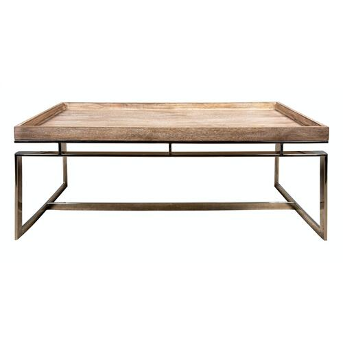 Coffee Table, Available in Weathered Brown Only