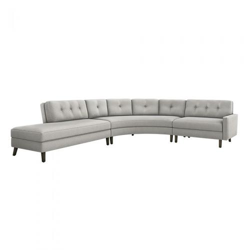 Aventura Left Chaise 3 Piece Sectional