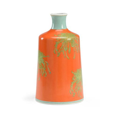 Chrysanthemum Vase - Orange