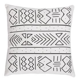 Kerra Pillow - Black / White