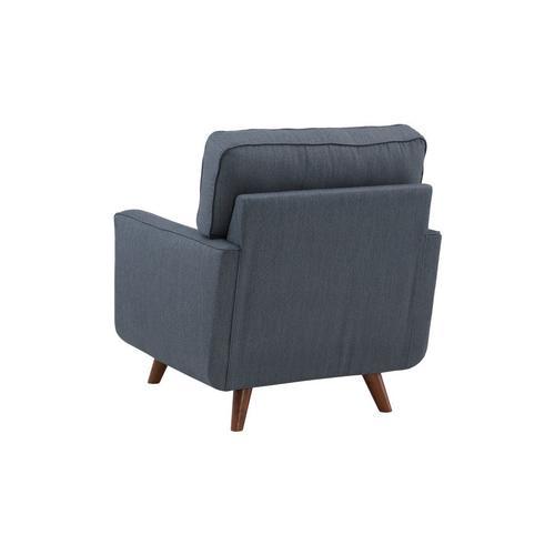 Porter International Designs - Hutton Teal Sofa, Loveseat & Chair, U2135
