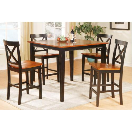 Table + 4 Chairs (counter)