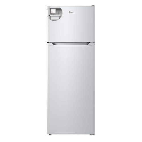 Galanz 12.0 Cu.Ft Top Mount Refrigerator with Bulit-in Ice Maker in White