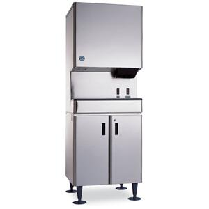 DCM-500BWH-OS, Cubelet Icemaker, Water-cooled, Hands Free Dispenser, Built in Storage Bin