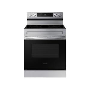 6.3 cu. ft. Smart Freestanding Electric Range with Rapid Boil™ & Self Clean in Stainless Steel Product Image