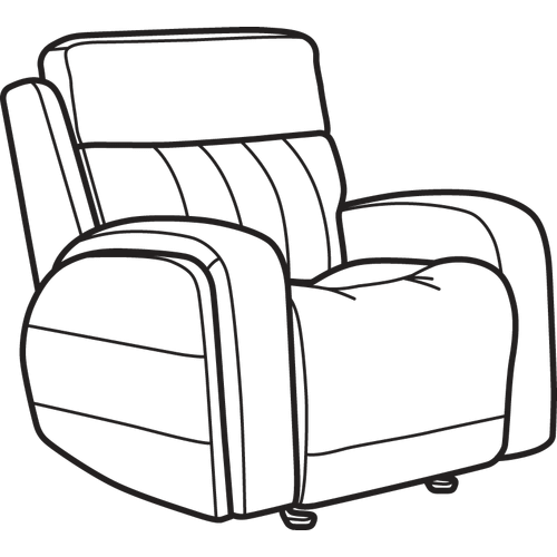 Product Image - Danvers Leather Power Gliding Recliner with Power Headrest