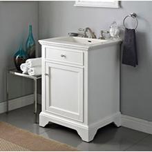 """See Details - Framingham 24"""" Vanity - Polar White"""