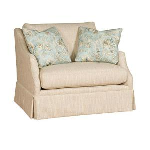 Brandy Chair & 1/2, Brandy Ottoman & 1/2