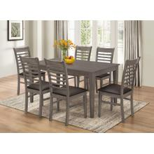 7812 GRAY 7PC Dining Room SET