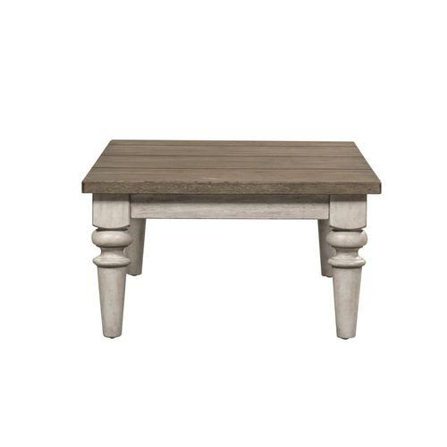 Rect Rustic Cocktail Table