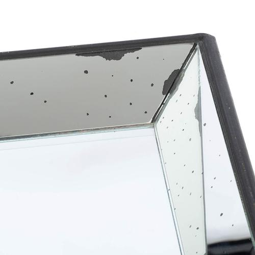 Mirrored Square Tray,Large