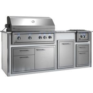 "Xo AppliancesAppliance Ready Pre-Assembled 42"" Designer Island White"