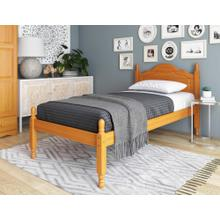View Product - 1434 - Reston Twin Bed Honey