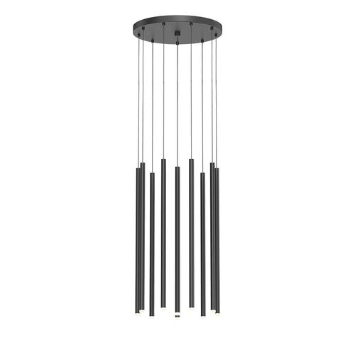 """Light Chimes™ 10-Light 24"""" LED Pendant"""