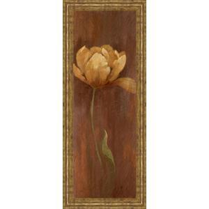 """Golden Tulip I"" By Nan Framed Print Wall Art"