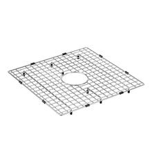 Moen stainless center drain grid