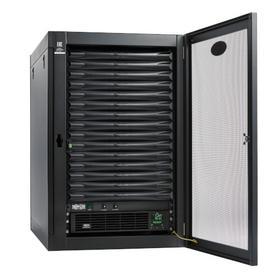 EdgeReady Micro Data Center - 15U, Heavy-Duty, Wall-Mount, 3 kVA UPS, Network Management and PDU, 120V Kit