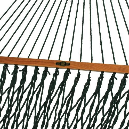 Pawleys Island Hammocks - Single Original Duracord Rope Hammock - Green