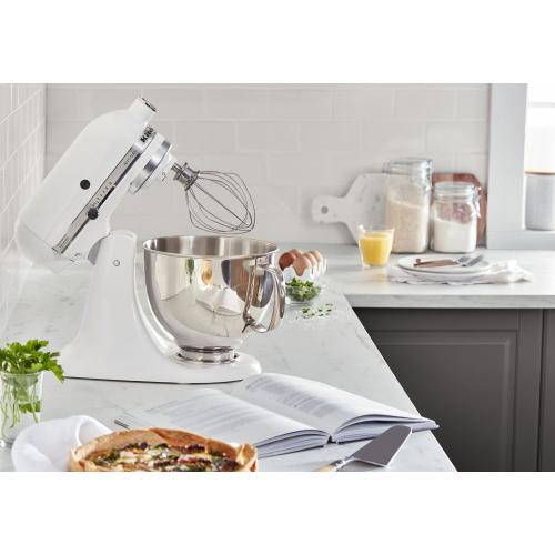 Artisan® Series 5 Quart Tilt-Head Stand Mixer - White