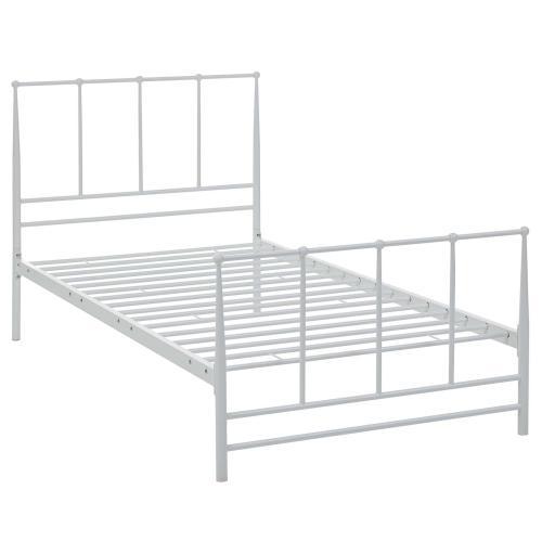 Estate Twin Bed in White