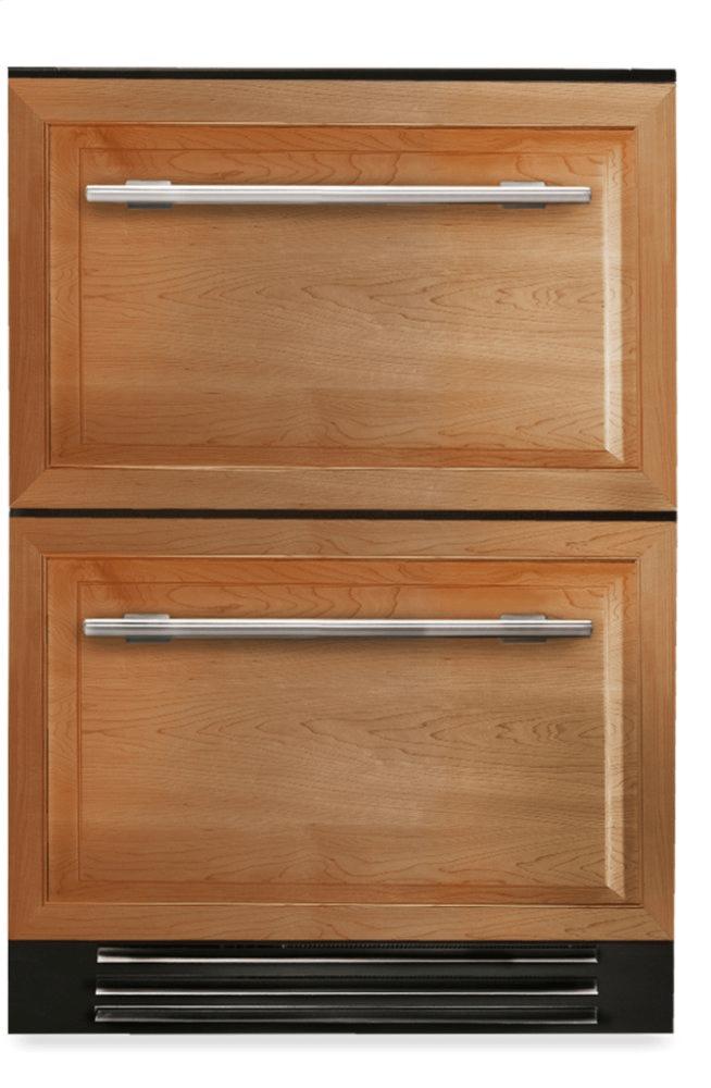 True Residential24 Inch Overlay Panel Door Undercounter Refrigerator Drawer
