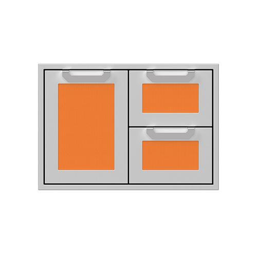 """30"""" Hestan Outdoor Combo Door/Drawer - AGSDR Series - Citra"""