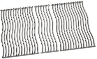Three Stainless Steel Cooking Grids for Rogue 525-1