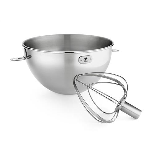 3.3 L Stainless Steel Bowl & Combi-Whip - Other