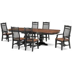 Table Top (black/whiskey)