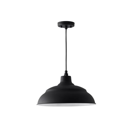 """Capital Lighting - 17"""" Warehouse Shade with Cord and Canopy"""
