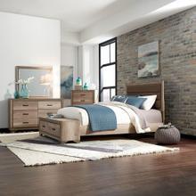 See Details - King California Storage Bed, Dresser & Mirror, Chest