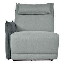 Power Left Side Reclining Chair with Power Headrest and Adjustable Arm