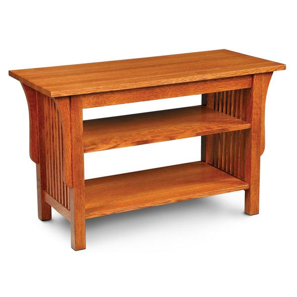 """Prairie Mission Widescreen Open TV Stand, Prairie Mission Widescreen Open TV Stand, 40""""w"""