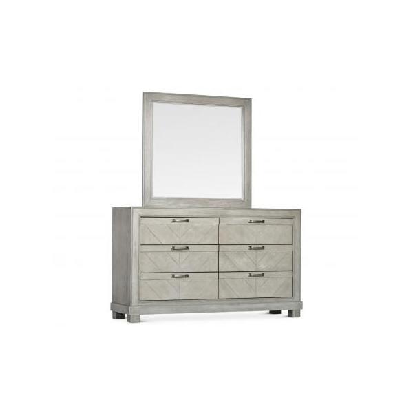 Montana Dresser/Mirror, Grey
