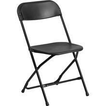View Product - HERCULES Series 800 lb. Capacity Black Plastic Folding Chair