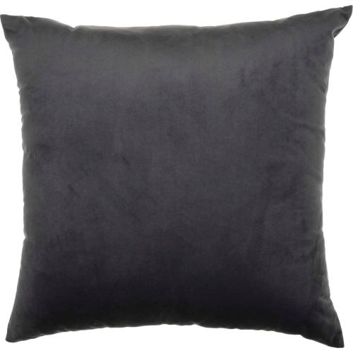"""Luminescence Qy168 Charcoal 18"""" X 18"""" Throw Pillow"""