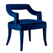 View Product - Tiffany Navy Velvet Chair