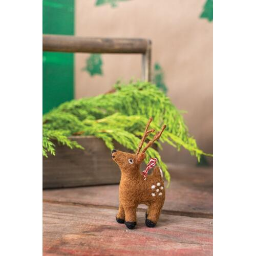 "2.75""x 2.25""x 4.75"" Trudy Reindeer Ornament"