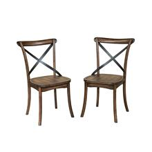 Lindsay X-Back Side Chair