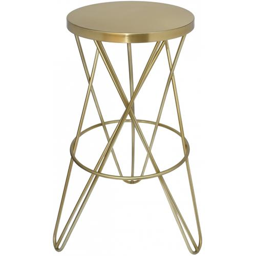 "Mercury Bar Stool - 15"" W x 15"" D x 30.5"" H"