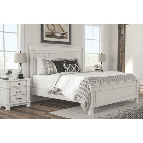 Jennily Queen Panel Bed